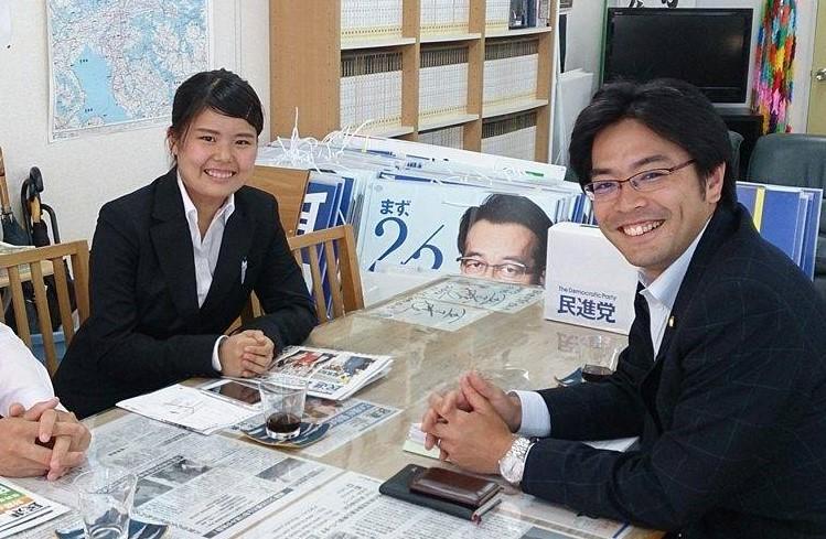 田辺一城 対話集会~特別企画「福岡で最優秀に輝いた大学生の政策を発表!」~