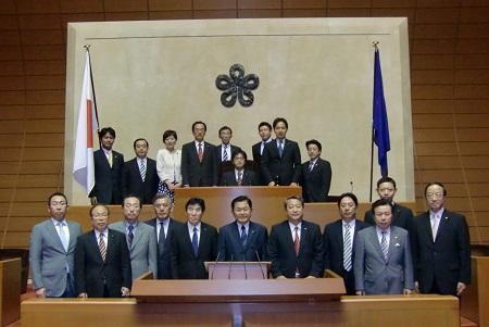 田邊一城 初議会